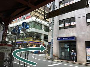京王線調布駅からのご案内